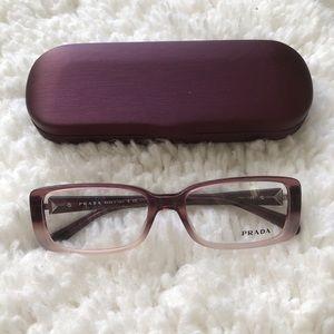 Prada VPR11N ZYV-101 Pink Violet Fade Frames 52mm